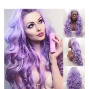 Light Purple Lace Front Wig 22-26 inches